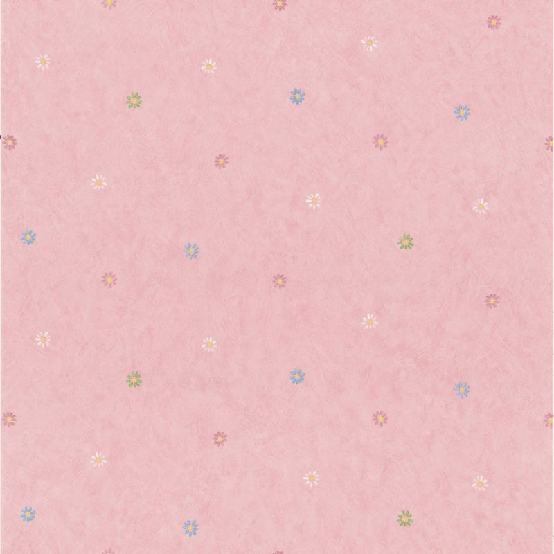 "Brewster 443-KA49217-SAM 8""x 10"" Sample of 443-KA49217 Pink Wallpaper"