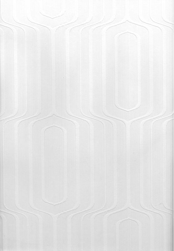 Brewster 497-67463 Pitch Paintable Geometric Ogee Wallpaper Paintable