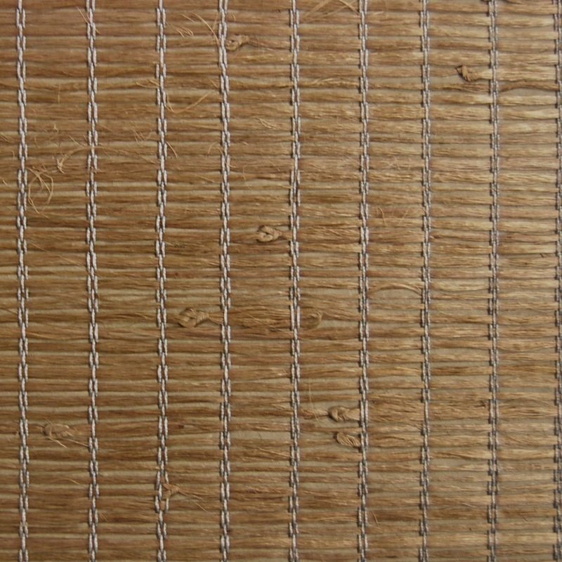 Brewster 63-54706 Xiao Hong Light Brown Grasscloth Wallpaper Light