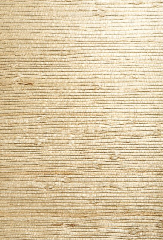 Brewster 63-54726 Bing Qing Beige Grasscloth Wallpaper Beige Home