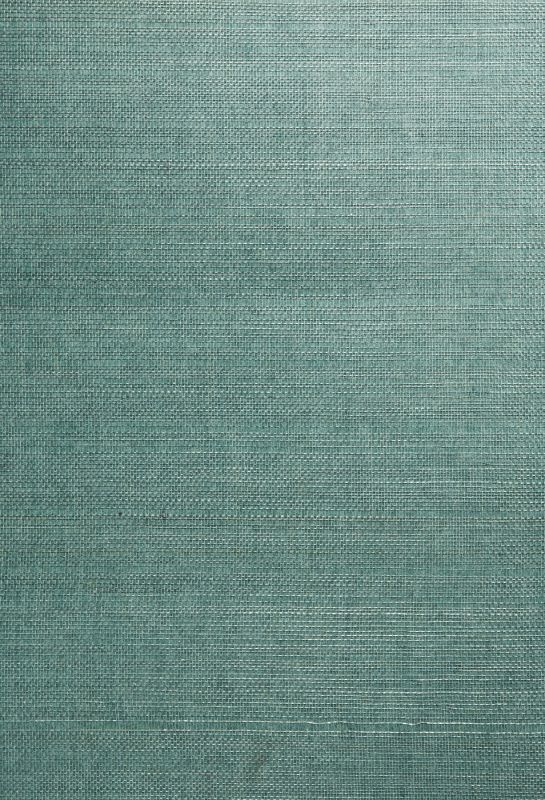 Brewster 63-54758 Kimiyo Aqua Grasscloth Wallpaper Aqua Home Decor