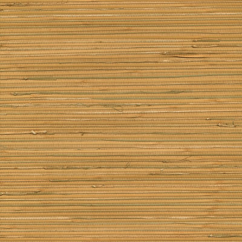 Brewster 63-65424 Li Light Brown Grasscloth Wallpaper Light Brown