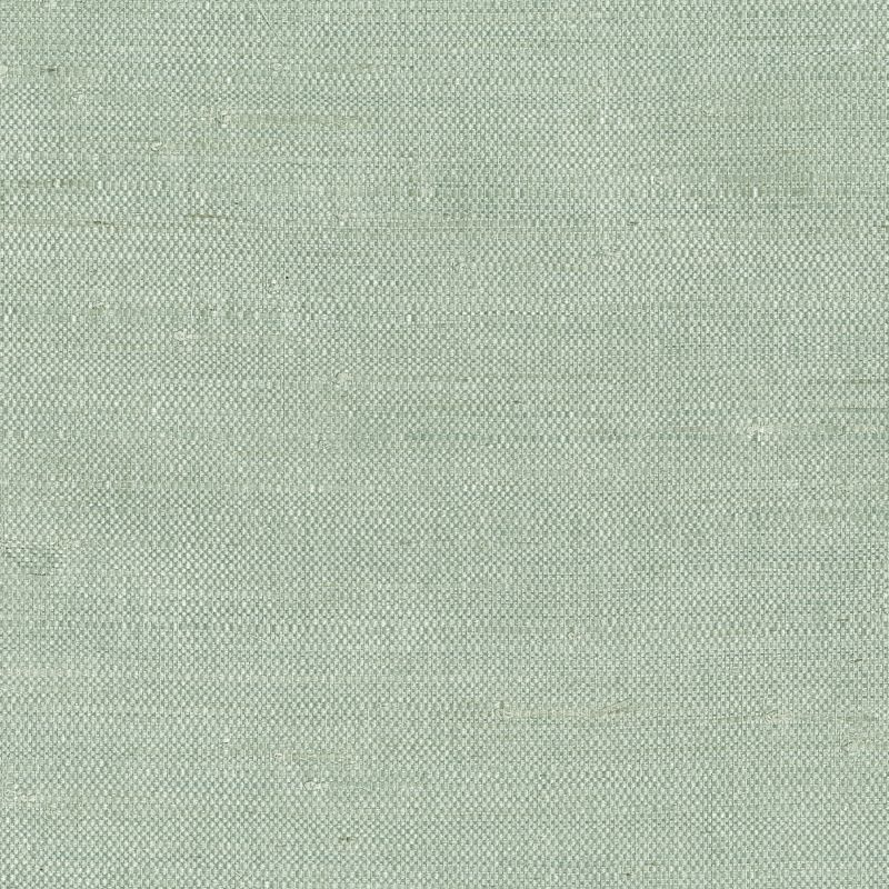 Brewster 63-65609 Kimi Light Green Grasscloth Wallpaper Light Green