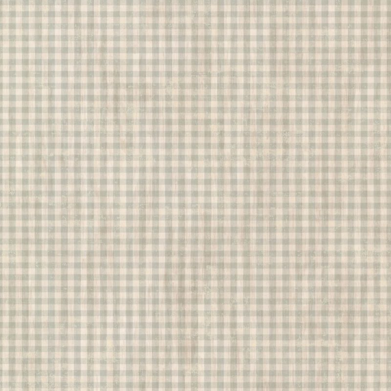 Brewster CTR44014 Greer Aqua Gingham Check Wallpaper Aqua Gingham Home