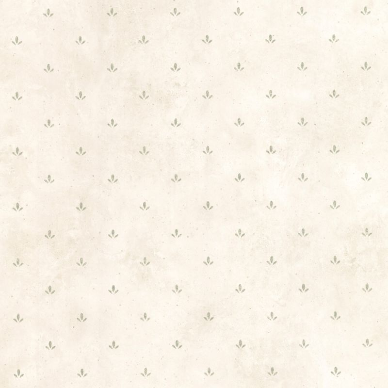 Brewster CTR66417 Josie Green Paw Print Texture Wallpaper Green Paw