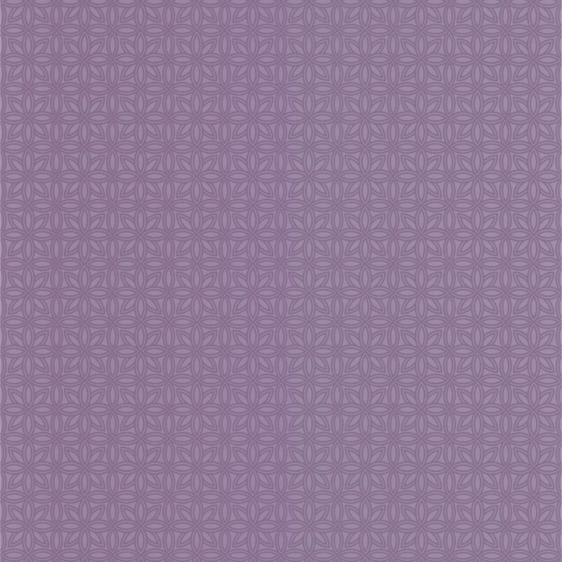 Brewster DL30615 Tangine Purple Mini Moroccan Geometric Wallpaper