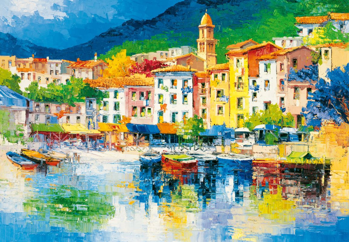 Brewster DM112 Riviera Ligure Wall Mural Riviera Ligure Home Decor
