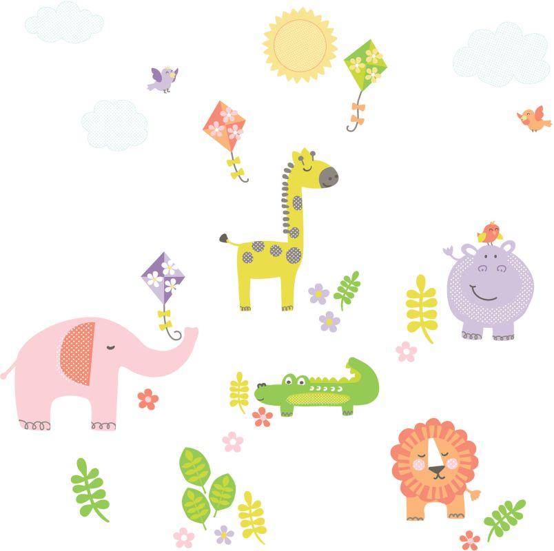 Brewster DWPK1153 Kid´s Sunny Day Safari Applique Kit Sunny Day Safari