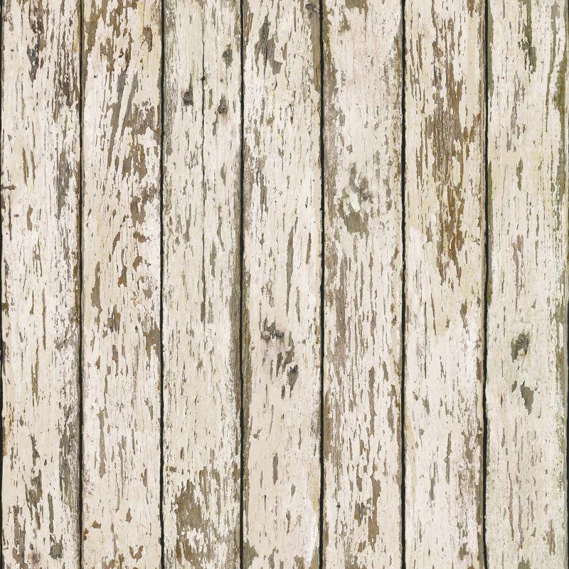 Brewster FFR13282 Neutral Weathered Wood Wallpaper Neutral Weathered
