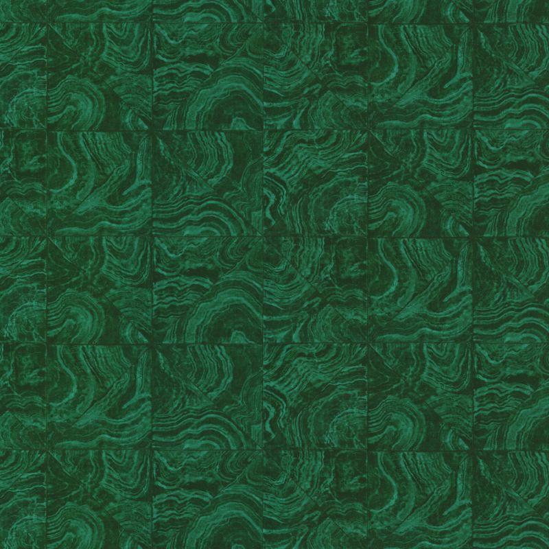 Brewster HZN43102 Malachite Green Stone Tile Wallpaper Green Stone
