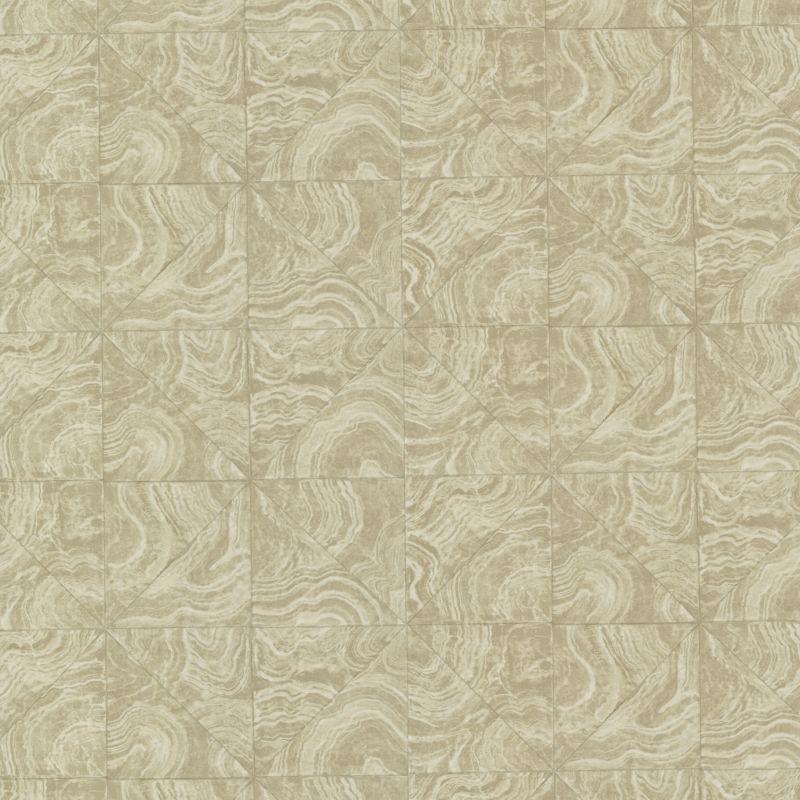 Brewster HZN43103 Malachite Beige Stone Tile Wallpaper Beige Stone