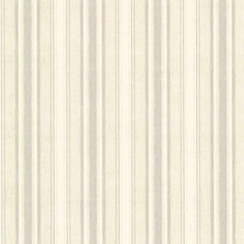 Brewster SRC130424 Ellsworth Grey Sunny Stripe Wallpaper Grey Sunny