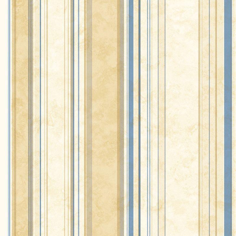 Brewster SRC58517 Cape Elizabeth Navy Lookout Stripe Wallpaper Navy