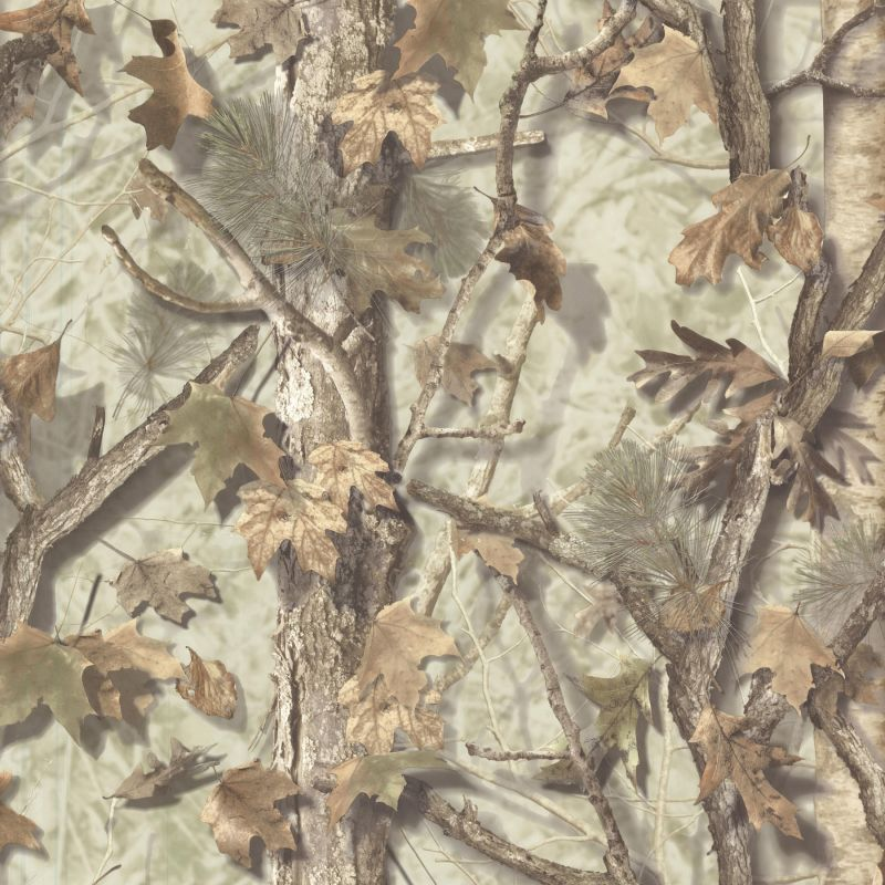 Brewster TLL01462 Sawgrass Fog Camo Forest Wallpaper Fog Camo Forest