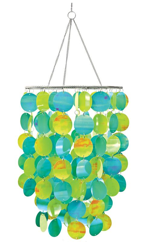 Brewster WPC0330 Pearl Blue Chandelier Home Decor Wall Decals