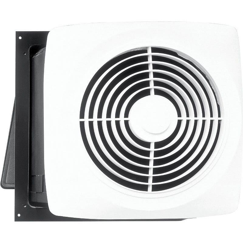 Broan 12C 360 CFM 8 Sone Wall Mounted HVI Certified Utility Fan White