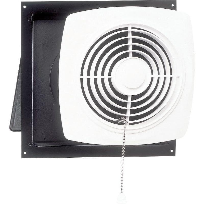 Broan 507 250 CFM 7 Sone Wall Mounted HVI Certified Utility Fan White
