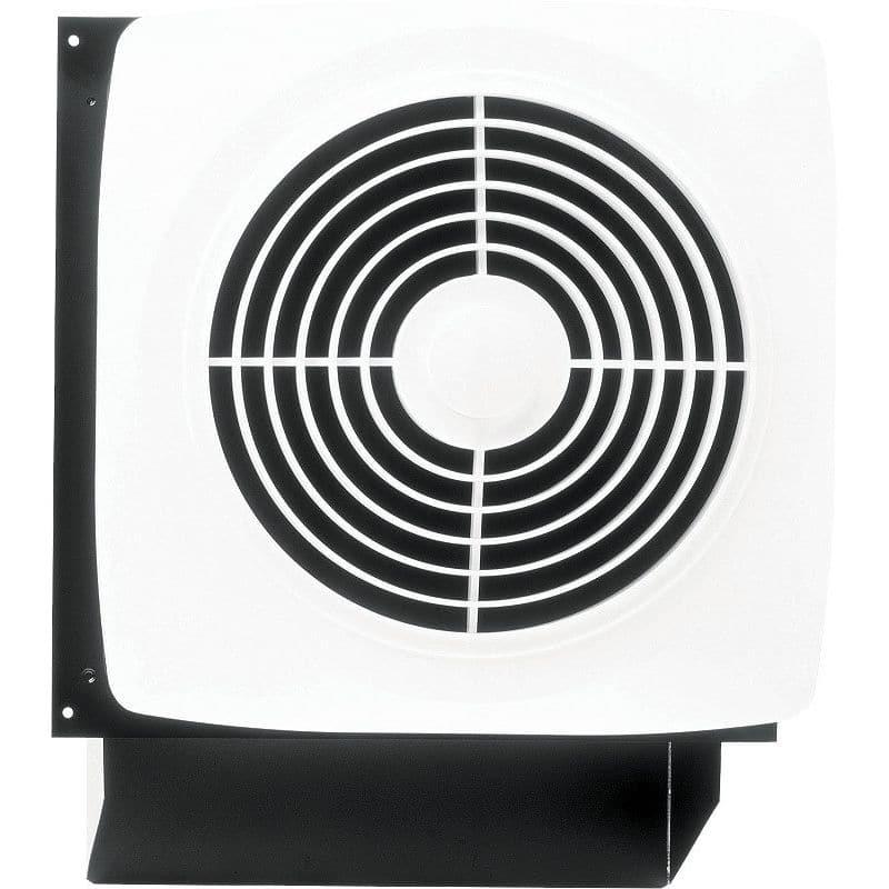 Broan 509 180 CFM 6.5 Sone Wall Mounted HVI Certified Utility Fan