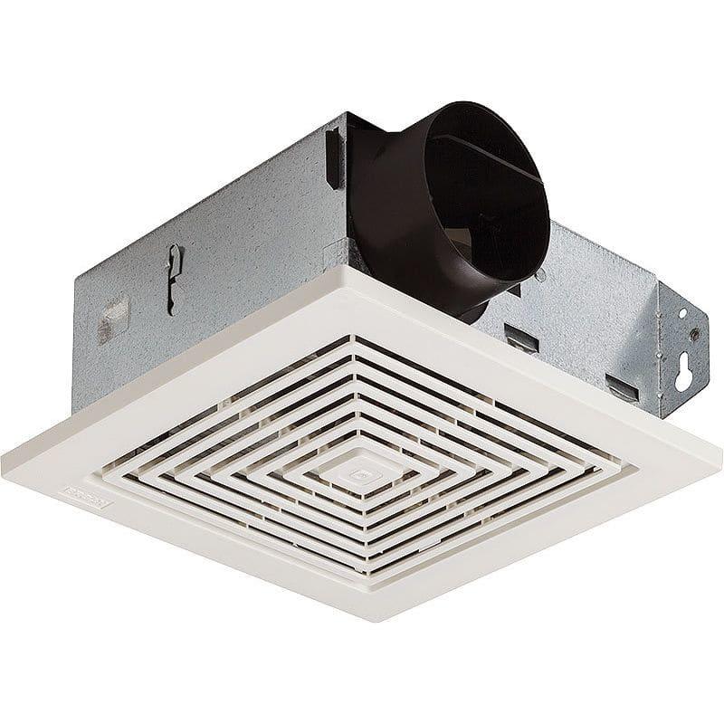Broan 671 70 CFM 6 Sone Ceiling or Wall Mounted HVI Certified Bath Fan