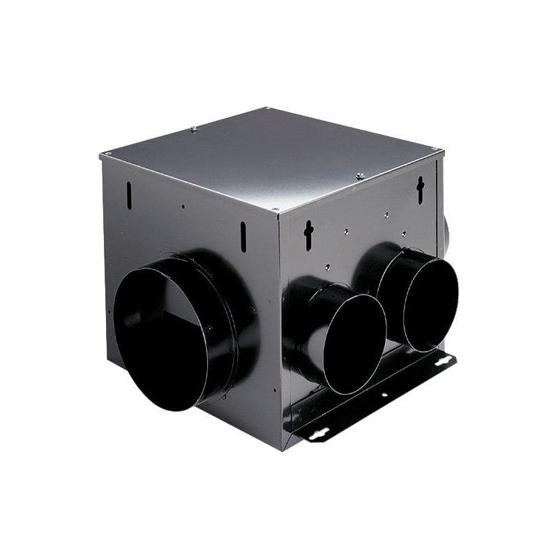 Broan MP100 110 CFM 1 Sone HVI Certified Multi-Port In-Line Ventilator