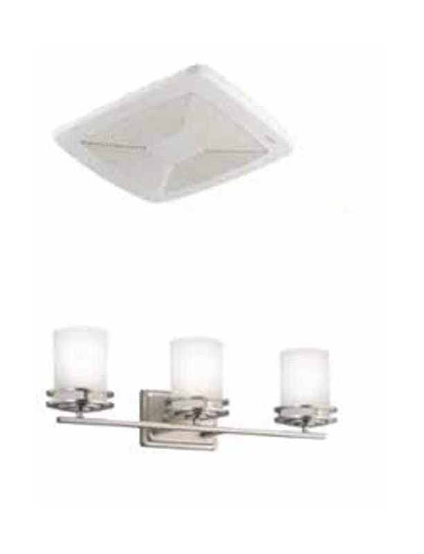 Broan RB110-5078NI 110 CFM .6 Sone Ceiling Mounted HVI Certified Bath