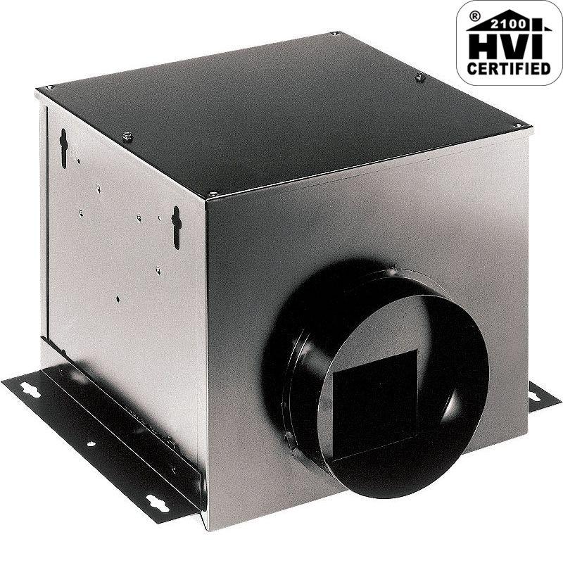 Broan SP100 110 CFM 1 Sone HVI Certified Single-Port In-Line