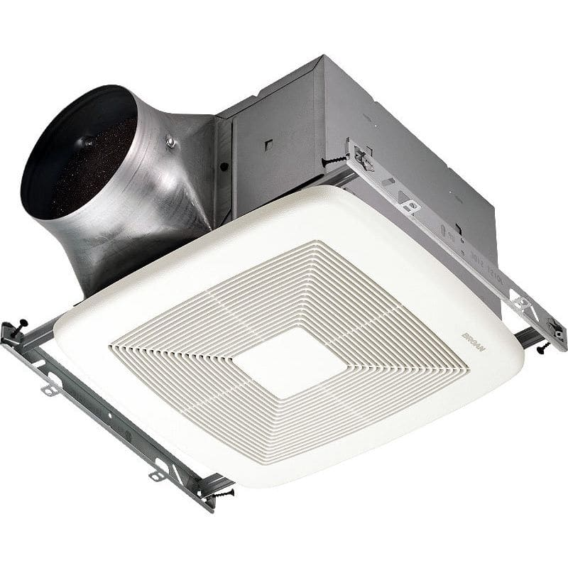 Broan ZB80 80 CFM 0.3 Sone Ceiling Mounted Energy Star Rated and HVI