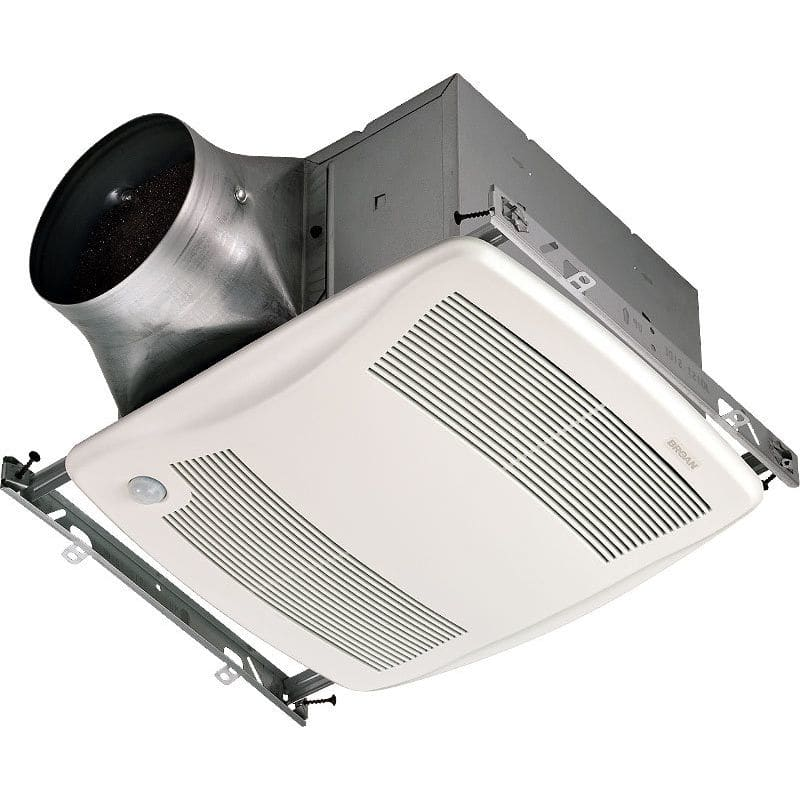 Broan ZB80M 80 CFM 0.3 Sone Ceiling Mounted Energy Star Rated and HVI