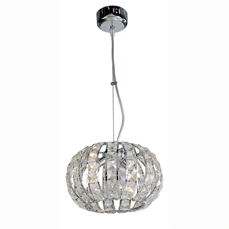 Bromi Design B-KD2002S Infinity 2 Light Mini Pendant Chrome Indoor Sale $218.00 ITEM: bci2267053 ID#:B-KD2002S UPC: 700729016862 :