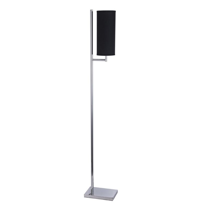 "Bromi Design B1305 Bennett 62.5"" Tall 1 Light Floor Lamp with Black"