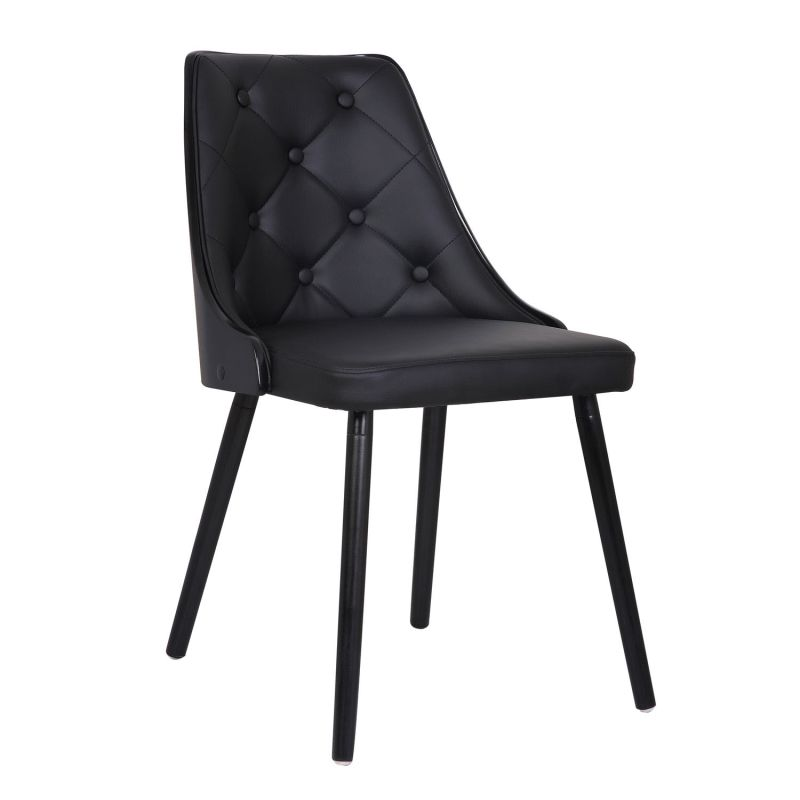 Bromi Design BF2710 Addison Dining Chair (Comes in a Set of 2) Black