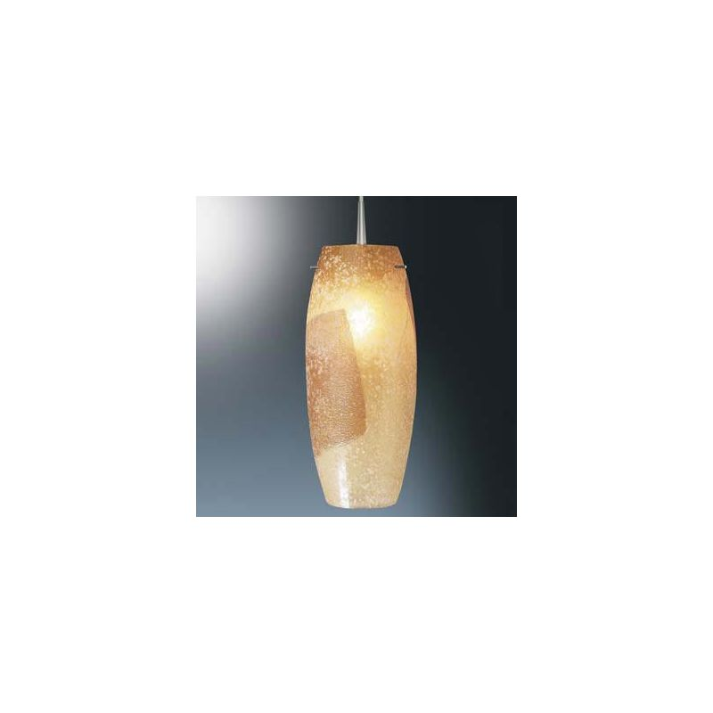 Bruck Lighting 110121 Line Voltage Pendant with Gold-Leaf Glass Shade