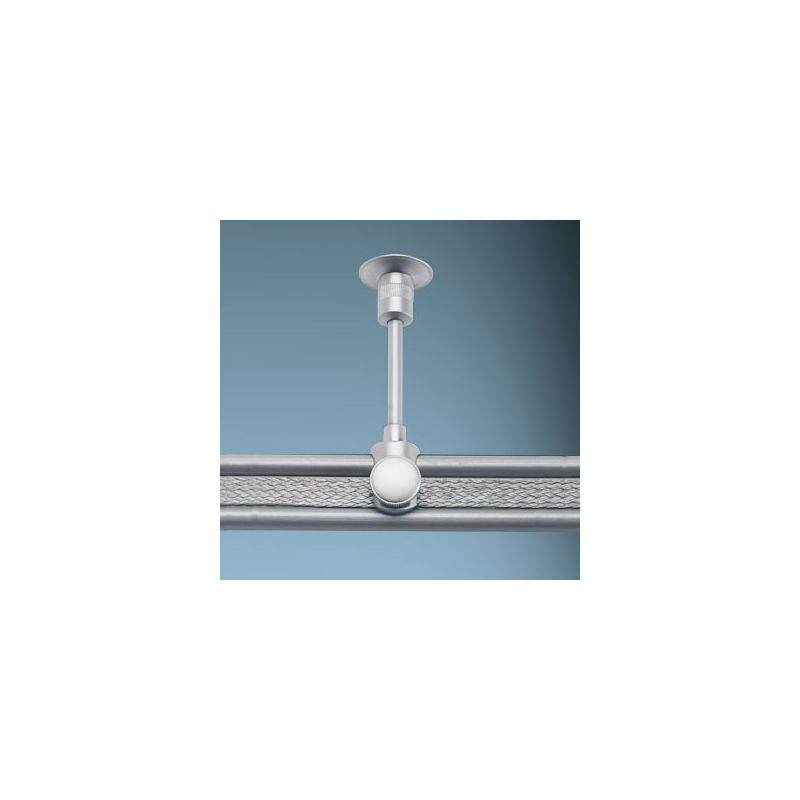 "Bruck Lighting 140180 3-1/2"" Ceiling Support for Enzis Track Systems"