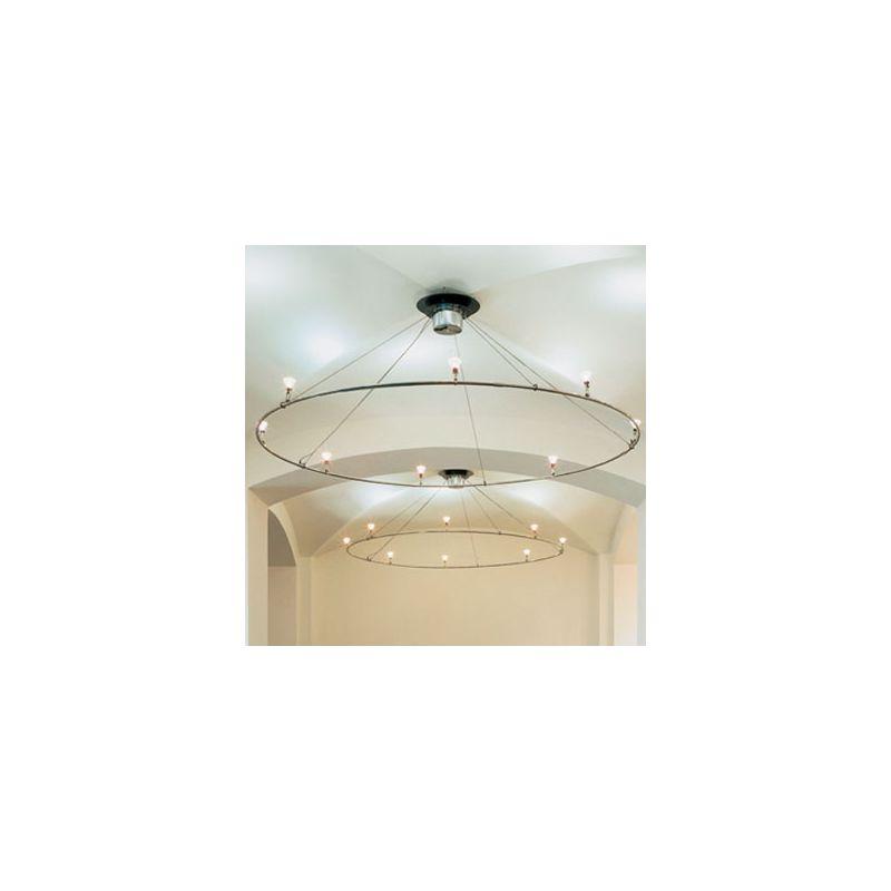 Bruck Lighting 160120 7ft. 6in. Ring Light System of 3 V/A Track