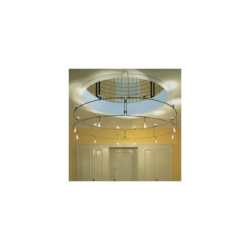 Bruck Lighting 160135 Double Suspended 10ft. Ring Light System from