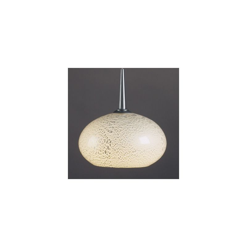 Bruck Lighting 22181 Down Pendant with Uni-Plug Design with Glass