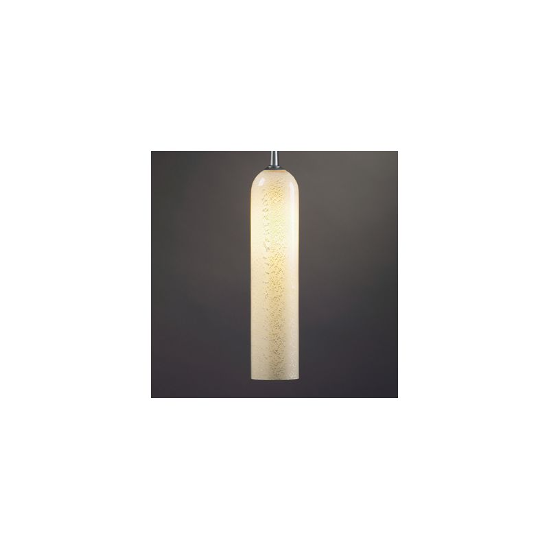 Bruck Lighting 22182 Down Light Pendant with Cylinder Glass Shade and