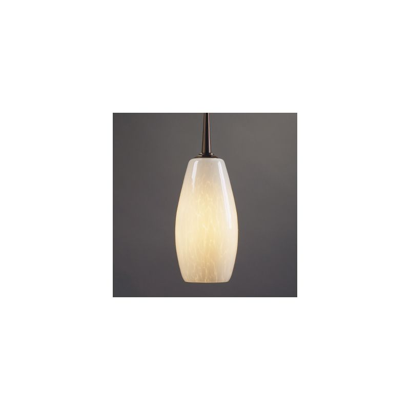 Bruck Lighting 22183 Uni-Plug Design Mini Down Pendant with Glass