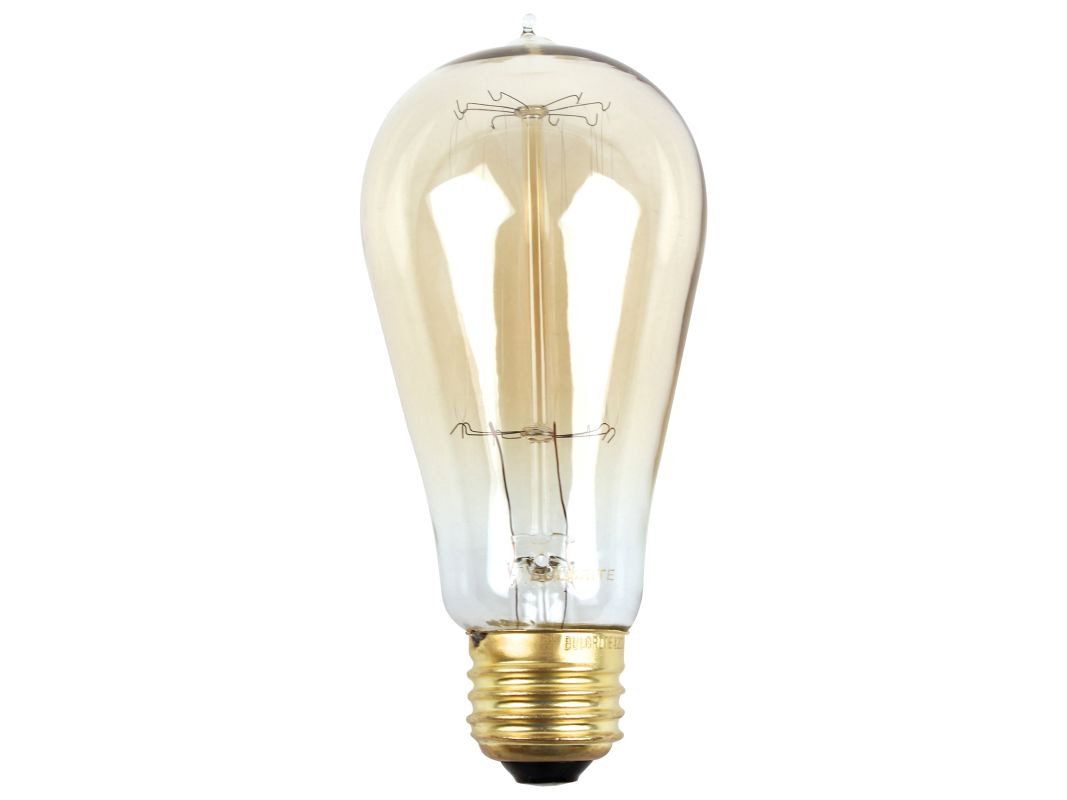 Bulbrite 607167 Pack of (6) 60W Dimmable ST18 Vintage Nostalgic