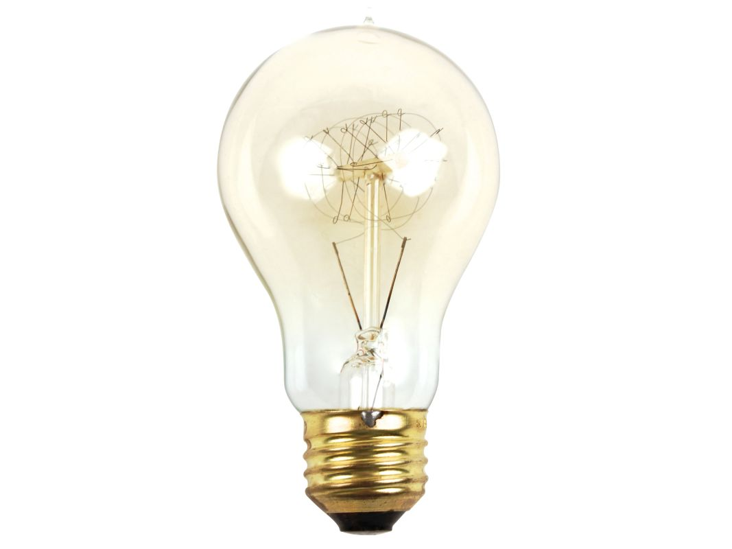 Bulbrite 607171 Pack of (6) 60W Dimmable A19 Vintage Nostalgic