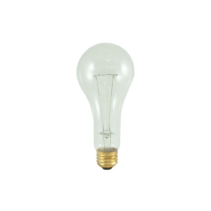 Bulbrite 101201 Pack of (5) 200 Watt Dimmable A23 Shaped Medium (E26)