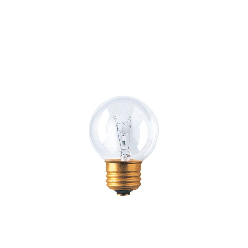 Bulbrite 311240 Pack of (10) 40 Watt Clear Dimmable G16 1/2 Shaped