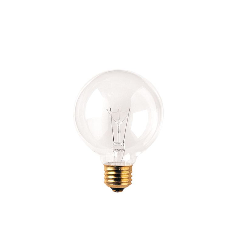 Bulbrite 331040 Pack of (10) 40 Watt Clear Dimmable G25 Shaped Medium
