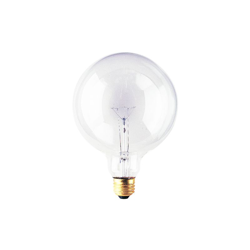 Bulbrite 351040 Pack of (6) 40 Watt Clear Dimmable G40 Shaped Medium