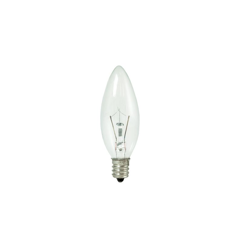 Bulbrite 460010 Pack of (10) 10 Watt Dimmable B8 Shaped Candelabra