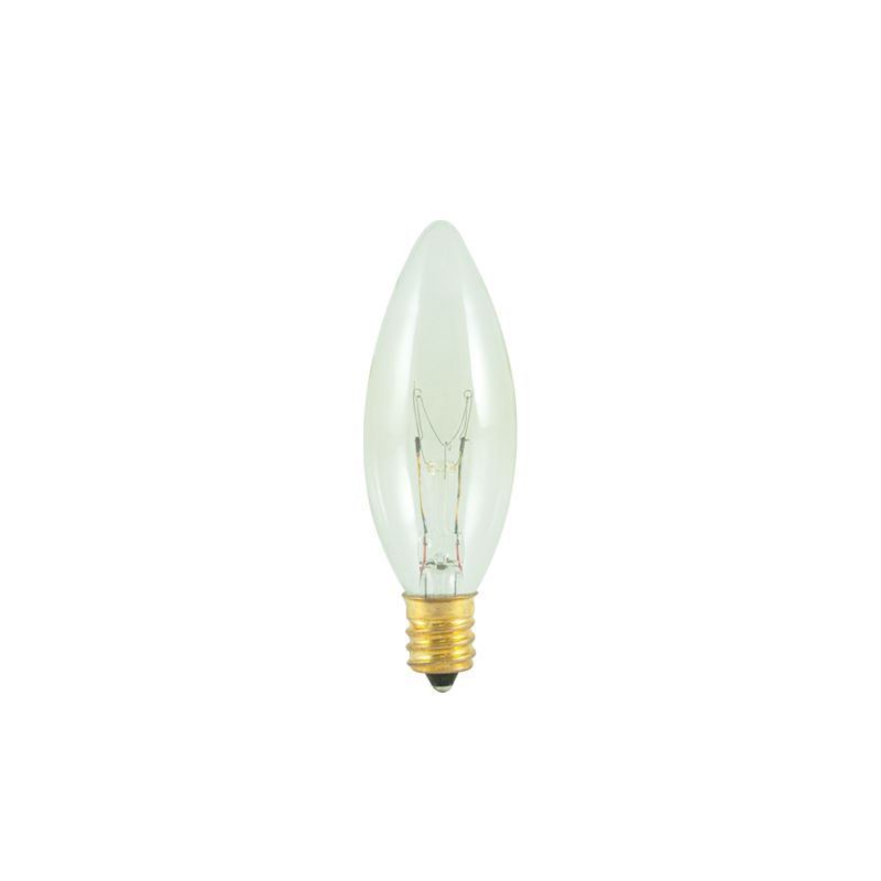 Bulbrite 490140 Pack of (15) 40 Watt Dimmable B8 Shaped Candelabra