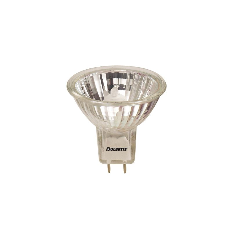 Bulbrite 620335 Pack of (5) 35 Watt Clear Dimmable MR16 Shaped GY8