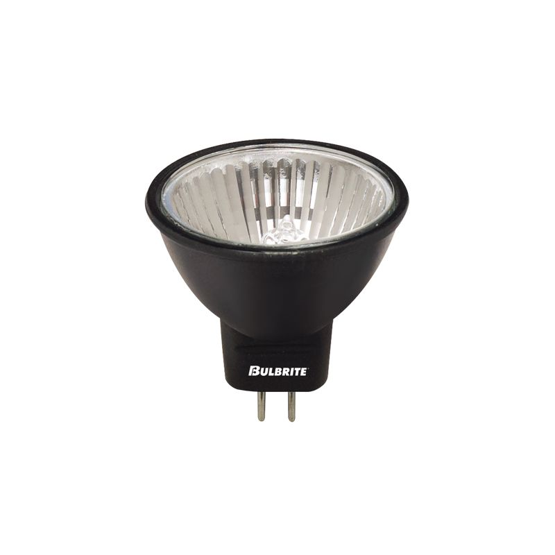 Bulbrite 638200 Pack of (4) 20 Watt Black Dimmable MR11 Shaped GU4 Sale $26.08 ITEM: bci2475670 ID#:638200 :