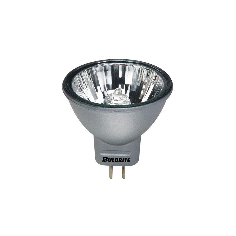 Bulbrite 638201 Pack of (4) 20 Watt Silver Dimmable MR11 Shaped GU4