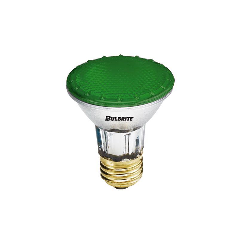 Bulbrite 683504 Pack of (5) 50 Watt Green Dimmable PAR20 Shaped Medium